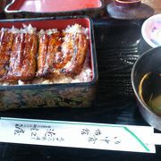 成田参道のうなぎ屋