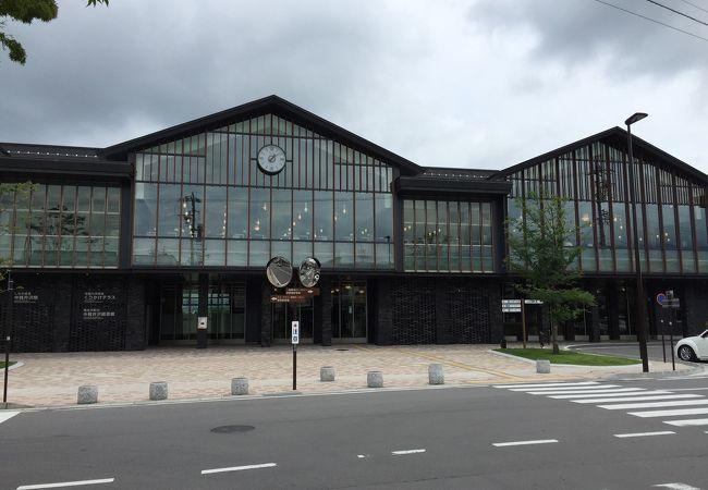 綺麗になった しなの鉄道の駅