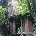 写真:旧北炭幌内炭鉱布引立坑櫓跡