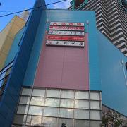 天神橋筋商店街に近い市場ビルディング