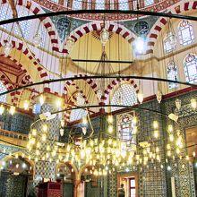 モスク室内