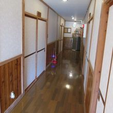 1階の廊下です。