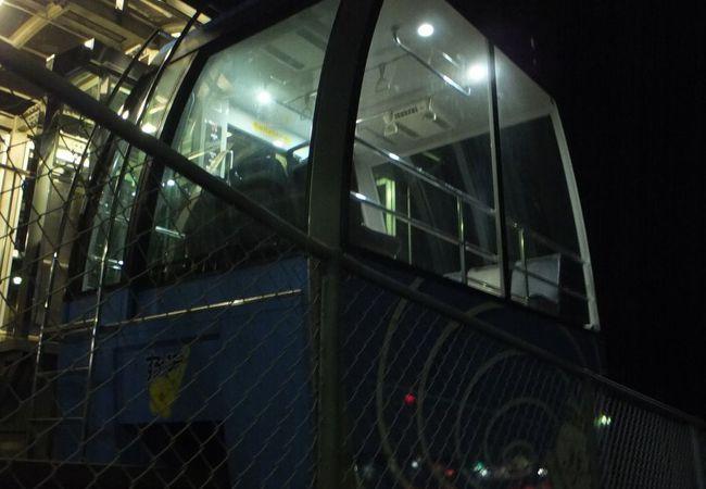 高速鳴門のバス停まで。