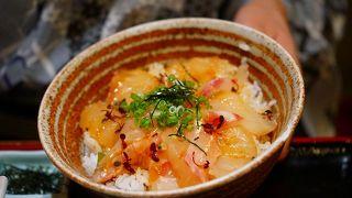 宇和島風鯛めしが道後温泉で食べれるなんて!お魚もとにかく新鮮!