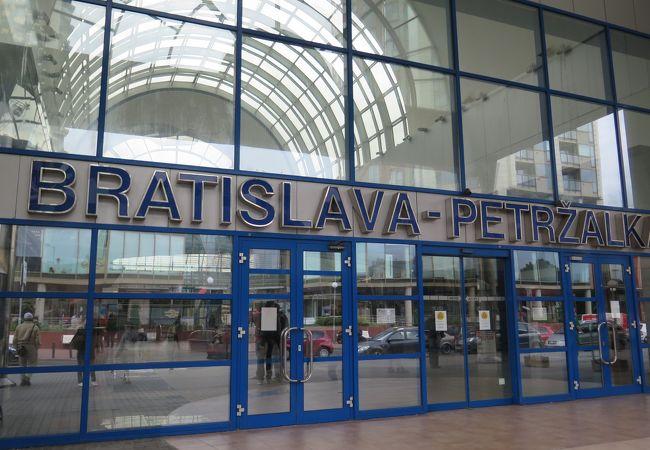 ブラチスラヴァ ペトルジャルカ駅