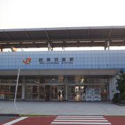 現在、岐阜県内にある唯一の新幹線駅です。