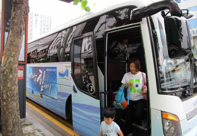 国立海洋博物館 シャトルバス