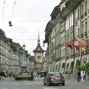 風情ある旧市街の石畳
