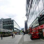 ドレスデン一の近代的ショッピングストリート