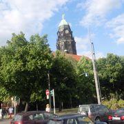 市内で最も高い塔がある