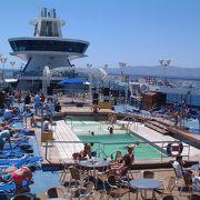 ギリシャで豪華客船クルーズ  (9) エーゲ海を豪華客船でクルーズ