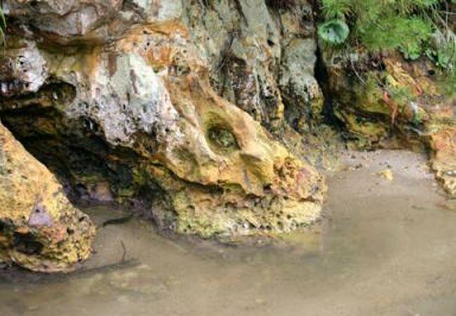 石見銀山の積出港の名残