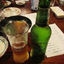 酒類には、辛口のシードルもありました。