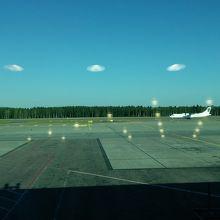 空港からの景色