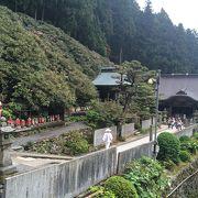 高所にある寺