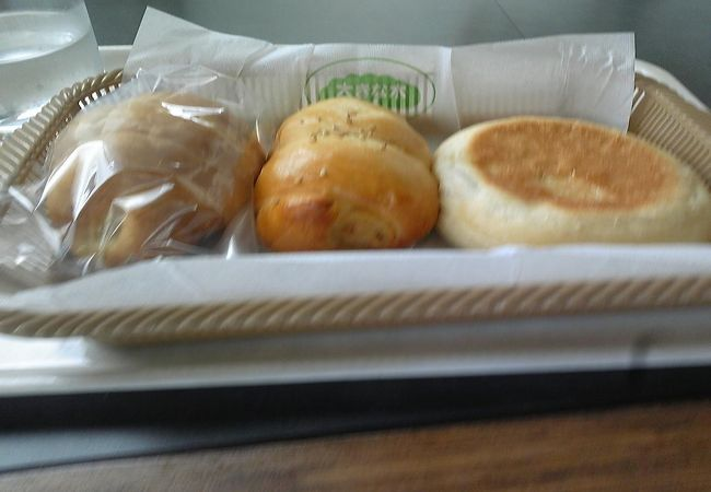 釧路駅そばショッピングセンター1階のパン屋さん