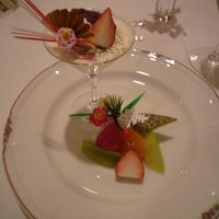 洋食コース料理のデザート