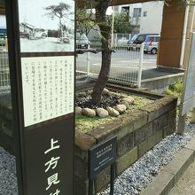 戸塚宿上方見付け跡