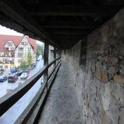 街を取り囲んでいる城壁