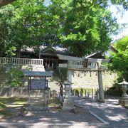 日坂宿の神社