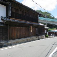 日坂宿の建物