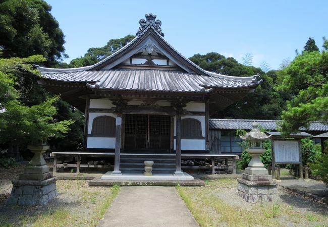山の上のお寺