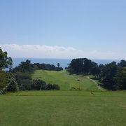日本屈指のリゾートゴルフ場