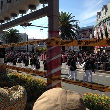 岸和田駅前