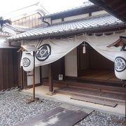 二川宿の本陣と旅籠を改修復元した資料館