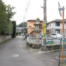 平川の大燈籠