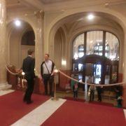 回廊でのミニ・コンサートて、ちょっぴり雰囲気に浸った