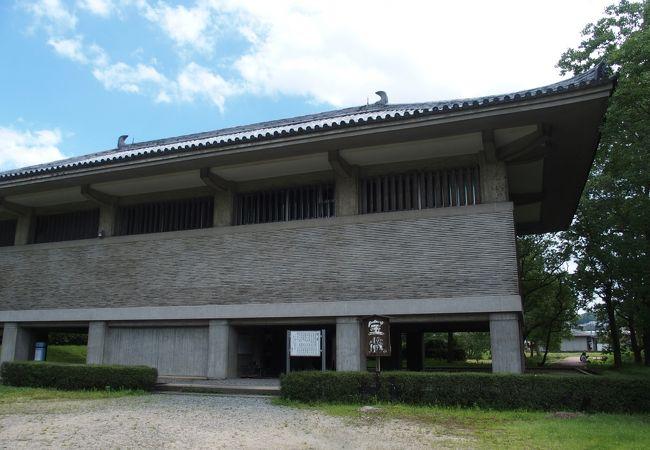 観世音寺収蔵庫