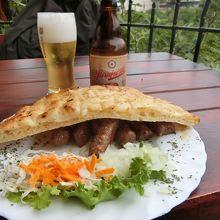 チェヴァブチチとサラエボビール
