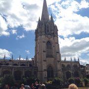 オックスフォードの素敵な景色を楽しめる場所です。