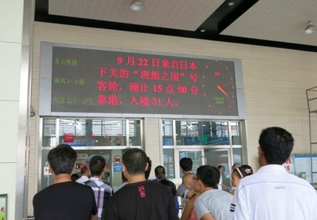青島港客運站 (青島港フェリーターミナル)