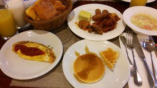 パラオロイヤルリゾート宿泊での朝食に!!