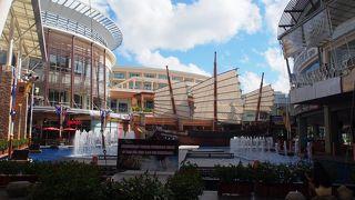 いつもバーゲンしているパトン・ビーチのショッピングセンター