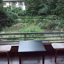 摺上川沿いの宿が多い