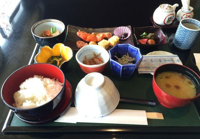 最高の和朝食