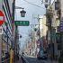 松葉の様に伸びる商店街