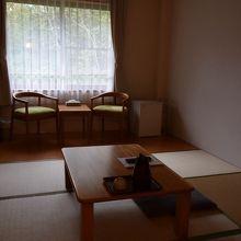 個室の和室です