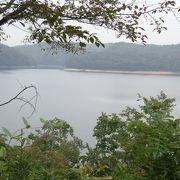 大きな人口ため池