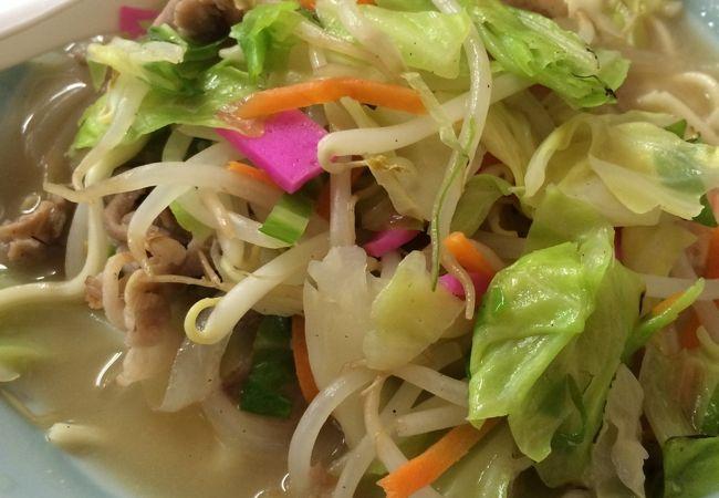 水俣チャンポン町の食堂ですが安くて美味しいです。