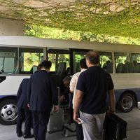 宿泊者専用のバス