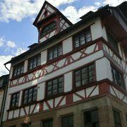 ドイツらしい家です。