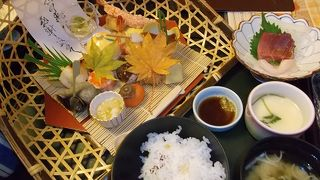 秋色のお弁当