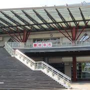 岐阜駅前から続くコンコース