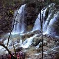 写真:九寨溝熊猫海瀑布