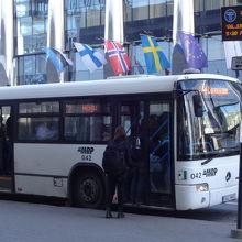 こんなバスです。