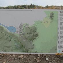 エフェス遺跡地図、